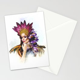 Miss Feather - BeFlower Stationery Cards
