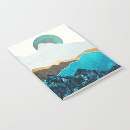 Teal Afternoon Notebook