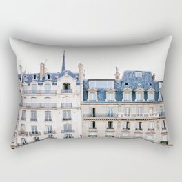 Tres Paris - Travel, Architecture Photography Rectangular Pillow