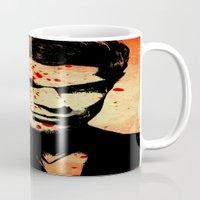 dexter Mugs featuring Dexter by 2b2dornot2b