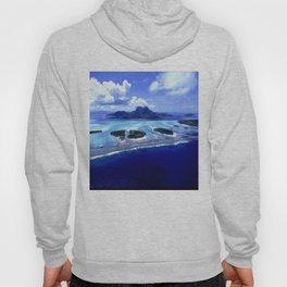 Bora Bora Island Tropical Paradise Hoody