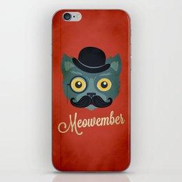 Meowember iPhone Skin