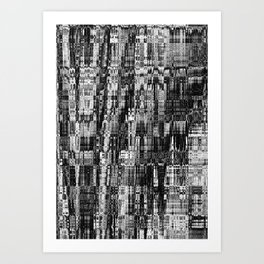 the city - mathéo Art Print