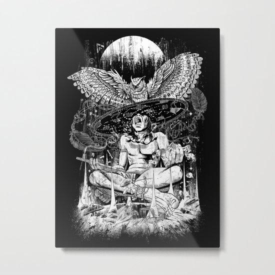 Spirit Owl Metal Print
