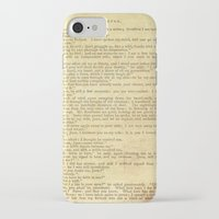 jane eyre iPhone & iPod Cases featuring Jane Eyre, Mr. Rochester First Marriage Proposal by Charlotte Bronte by ForgottenCotton