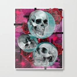 Long Nights Metal Print