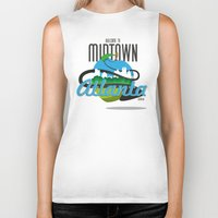 atlanta Biker Tanks featuring Midtown Atlanta by Niels Revers Design