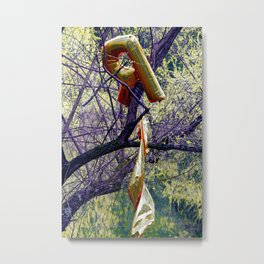 R'ent; you going to recycle 2 daY? Metal Print