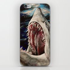 Mako Shark of Dark Waters iPhone & iPod Skin