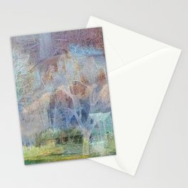 """ Bison Forest "" Stationery Cards"
