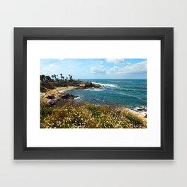 La Jolla Cove, California, Spring Framed Art Print