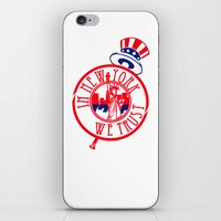 "yankees iPhone & iPod Skins featuring ""Subway Series"" Yankees by InNYweTrust"