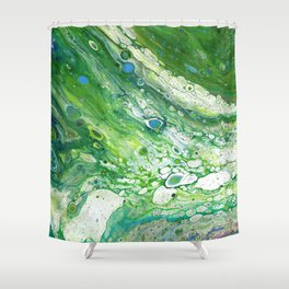 Fluid - Ver-te Shower Curtain