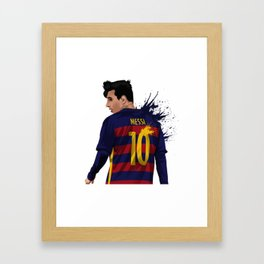 Messi Framed Art Print