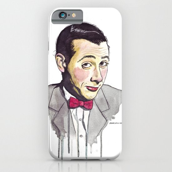 Pee Wee iPhone & iPod Case