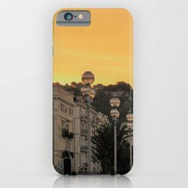 Cote D'Azur Morning iPhone Case