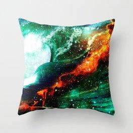 Erica Electra Throw Pillow