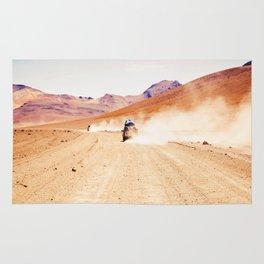 Road Racing Desert (Color) Rug
