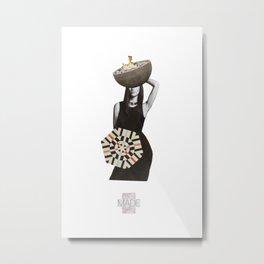 MADE Metal Print