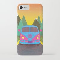 volkswagon iPhone & iPod Cases featuring Das Auto by Daizy Jain
