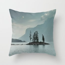 Obscured Thoughts Throw Pillow