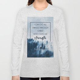 Forest Philippians 4:13 Long Sleeve T-shirt