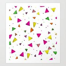 MIAMI LIVIN'  Art Print