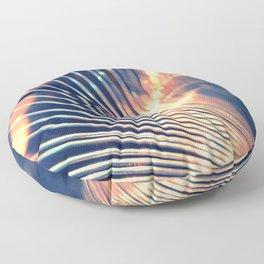 Slinky Abstract Floor Pillow
