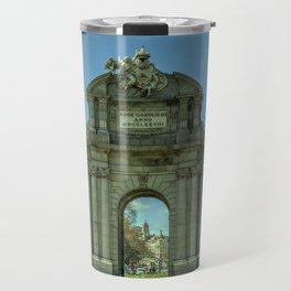 Puerta de Alcala Travel Mug