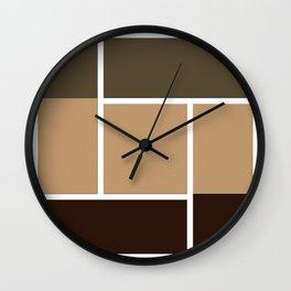 Twine Pathway Wall Clock