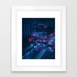 DC Chinatown Framed Art Print