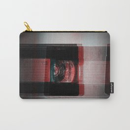 Video Distortion Carry-All Pouch