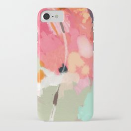 spring moon earth garden iPhone Case