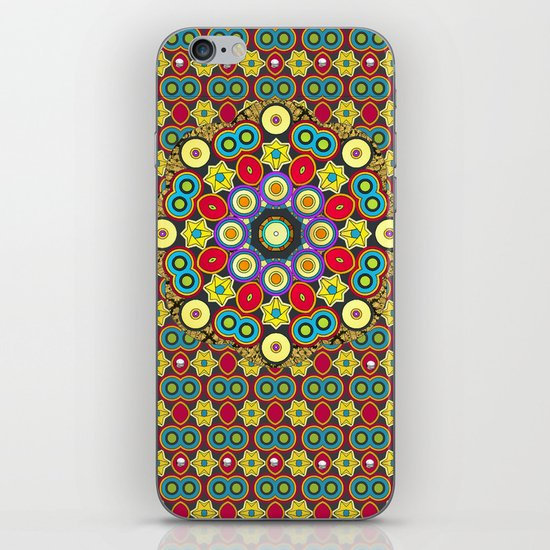 POW WOW iPhone & iPod Skin