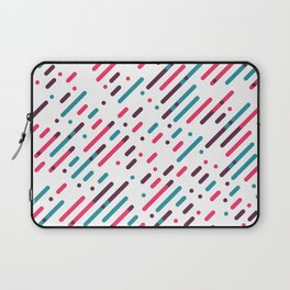 Parallel Colorful Pattern Laptop Sleeve