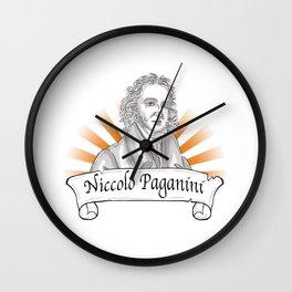 Niccolo Paganini  Wall Clock