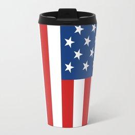 United States Flag Travel Mug