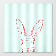 Psycho Bunny Canvas Print