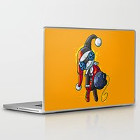 harley Laptop & iPad Skins featuring Harley Doll by Artistic Dyslexia