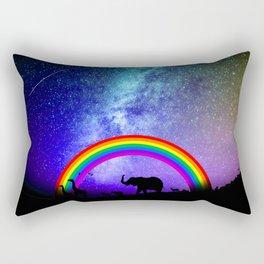 Rainbow Migration Rectangular Pillow