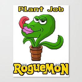 Plant Job Canvas Print