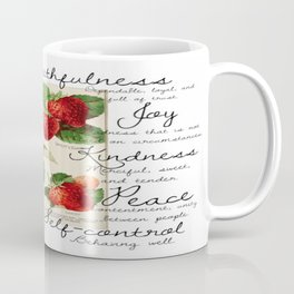 Strawberries and Fruit of the Spirit Explained  Coffee Mug