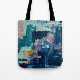 The Peace of Wild Things: a vibrant abstract piece in a variety of colors by Alyssa Hamilton Art Tote Bag