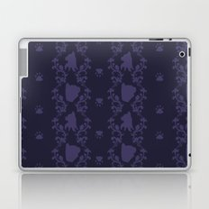 Cat Damask Laptop & iPad Skin