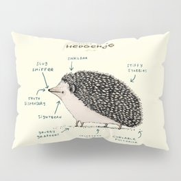 Anatomy of a Hedgehog Pillow Sham