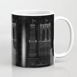 Brooklyn Bridge Blueprint Coffee Mug