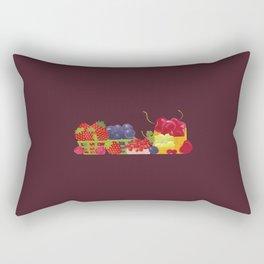 Berries. Sweet summer. Rectangular Pillow