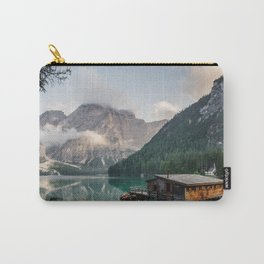Mountain Lake Cabin Retreat Carry-All Pouch