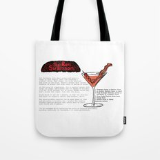 The Ron Swanson Cocktail Recipe Tote Bag