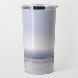 Winter walk; Room to breathe Travel Mug